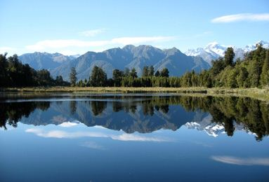 lake matheson 12 Most Magnificent Lakes in the World