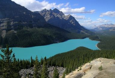 peyto lake 12 Most Magnificent Lakes in the World